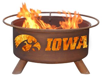 Iowa Hawkeyes Portable Fire Pit Grill | Patina | F241