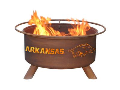 Arkansas Razorbacks Portable Fire Pit Grill | Patina | F244
