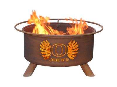 Oregon Ducks Portable Fire Pit Grill | Patina | F245