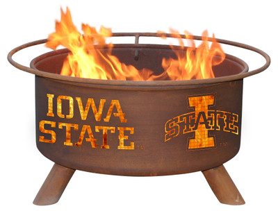 Iowa State Cyclones Portable Fire Pit Grill | Patina | F247