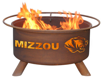 Missouri Tigers Portable Fire Pit Grill | Patina | F409