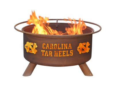 UNC Tarheels Portable Fire Pit Grill | Patina | F430