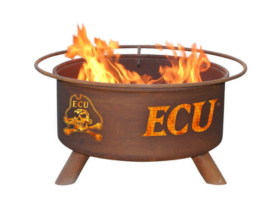 East Carolina Pirates Portable Fire Pit Grill | Patina | F438