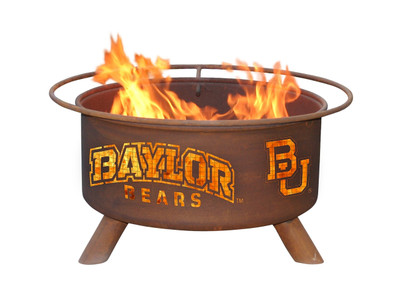 Baylor Bears Portable Fire Pit Grill | Patina | F461
