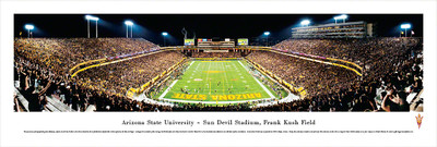 Arizona State Sun Devils Panoramic Photo - End Zone | Blakeway | ASU2