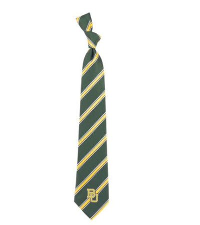 Baylor Bears Woven Poly Tie | Eagles Wings | 6295