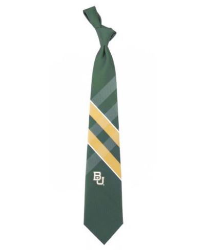 Baylor Bears Woven Poly Grid Tie | Eagles Wings | 3261