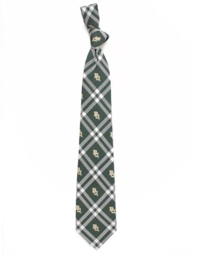 Baylor Bears Woven Poly Rhodes Tie | Eagles Wings | 4633