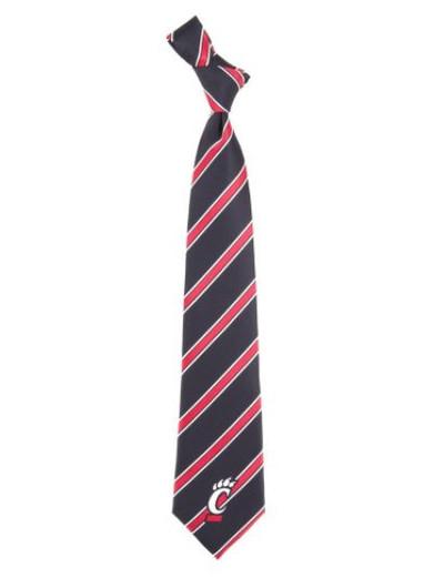 Cincinnati Bearcats Woven Poly Tie | Eagles Wings | 6291