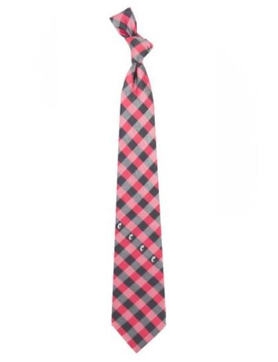 Cincinnati Bearcats Woven Poly Check Tie | Eagles Wings | 5198