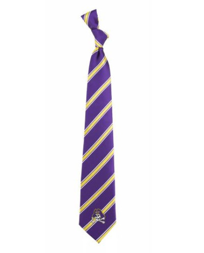 East Carolina Pirates Woven Poly Tie | Eagles Wings | 9486