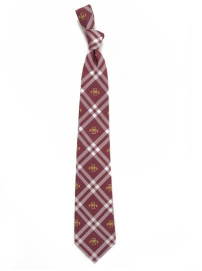 Iowa State Cyclones Woven Poly Rhodes Tie | Eagles Wings | 4643