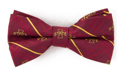 Iowa State Cyclones Oxford Bow Tie   Eagles Wings   3923