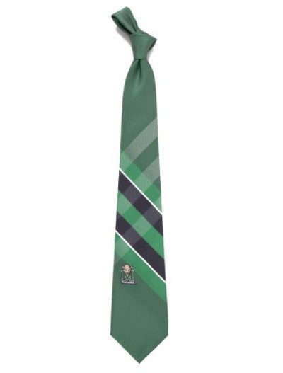 Marshall Thundering Herd Woven Poly Grid Tie | Eagles Wings | 3259