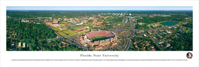 FSU Seminoles Panoramic Photo Print - Aerial View | Blakeway | FSU1