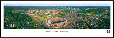 FSU Seminoles Standard Frame Panoramic Photo - Aerial View | Blakeway | FSU1F