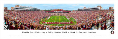 FSU Seminoles Panoramic Photo Print - End Zone | Blakeway | FSU4