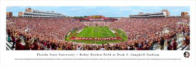 FSU Seminoles Panoramic Photo Print - End Zone | Blakeway | FSU4
