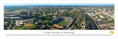 Georgia Tech Yellow Jackets Panoramic Photo Print - Aerial View | Blakeway | GAT1