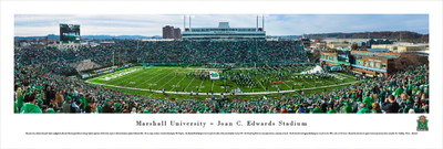 Marshall Thundering Herd Panoramic Photo Print - 50 Yard Line | Blakeway | MARU1