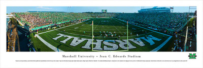 Marshall Thundering Herd Panoramic Photo Print - End Zone | Blakeway | MARU2