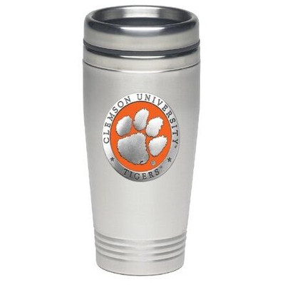Clemson Tigers Thermal Mug | Heritage Pewter | TD10160EO
