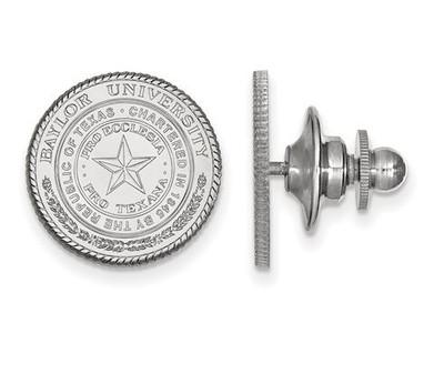 Baylor Bears Sterling Silver Lapel Pin | Logo Art | SS039BU