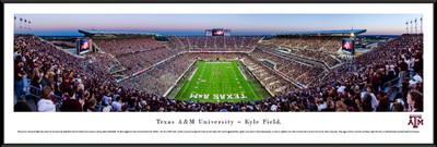 Texas A&M Aggies Standard Frame Panoramic Photo - End Zone | Blakeway | TXAM4F