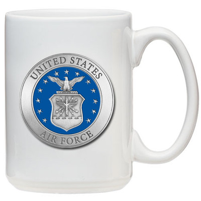 Air Force Academy Coffee Mug | Heritage Pewter | CM10271EBWH