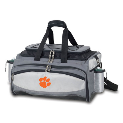 Clemson Tigers Vulcan Portable Gas Grill | Picnic Time | 770-00-175-102-0