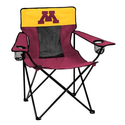 Minnesota Golden Gophers Elite Tailgate Chair   Logo Chair   175-12E