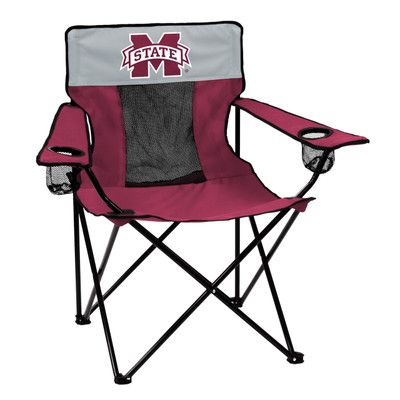 Mississippi St. Bulldogs Elite Tailgate Chair | Logo Chair | 177-12E