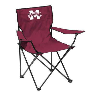 Mississippi St. Bulldogs Quad Tailgate Chair | Logo Art |177-13Q