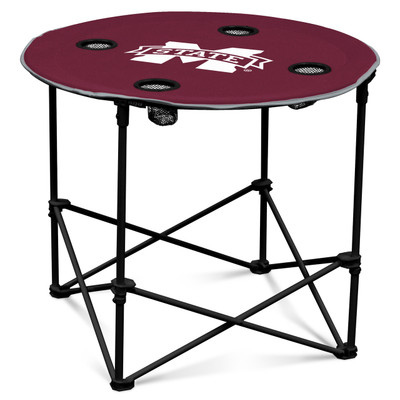 Mississippi St. Bulldogs Portable Table | Logo Chair |177-31