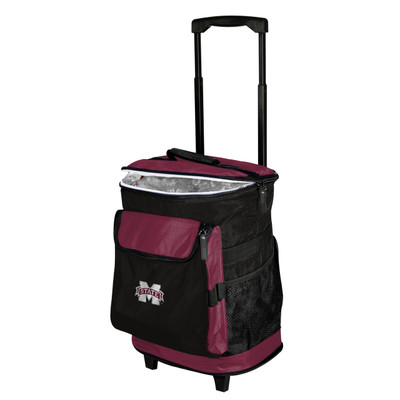 Mississippi St. Bulldogs Rolling Cooler | Logo Chair | 177-57