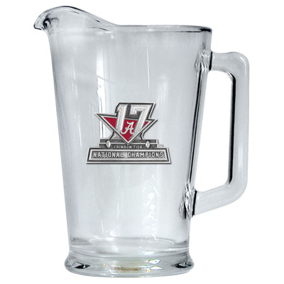 2017 National Champions Alabama Crimson Tide Beer Pitcher | Heritage Pewter | PI11088E
