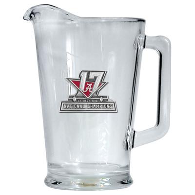 2017 National Champions Alabama Crimson Tide Beer Pitcher   Heritage Pewter   PI11088E