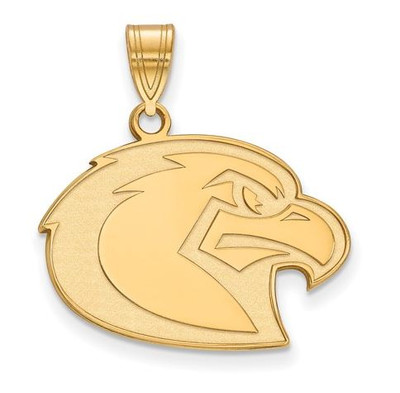 Marquette University Golden Eagles 10k Yellow Gold Large Pendant | Logo Art | 1Y024MAR