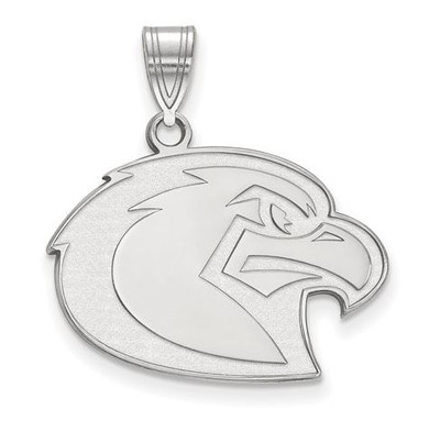 Marquette University Golden Eagles 10k White Gold Large Pendant | Logo Art | 1W027MAR