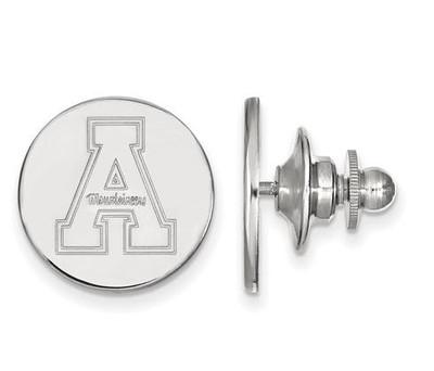 Appalachian State University Sterling Silver Lapel Pin   Logo Art   SS009APS