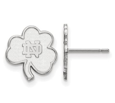University of Notre Dame Fighting Irish Sterling Silver Extra Small Post Earrings | Logo Art | SS065UND