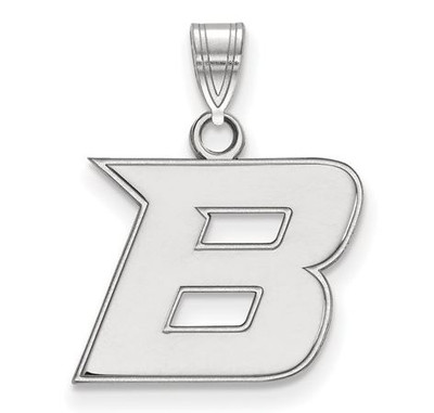 Boise State University Sterling Silver Small Pendant | Logo Art | SS005BOS