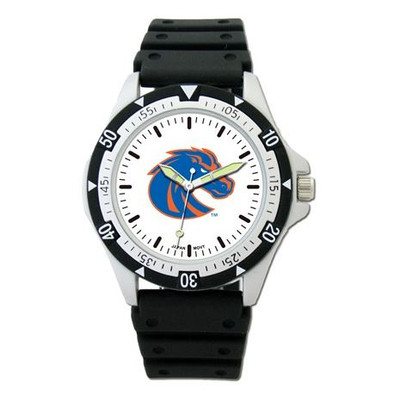 Boise State Option Sport Watch With Rubber Strap | Logo Art | BOS135
