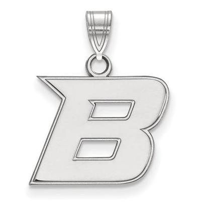 Boise State University 14k White Gold Small Pendant | Logo Art | 4W005BOS