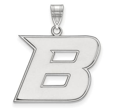 Boise State University 14k White Gold Large Pendant | Logo Art | 4W006BOS