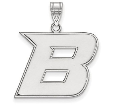 Boise State Broncos Sterling Silver Large Pendant | Logo Art | SS006BOS