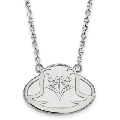 Boston College Sterling Silver Large Pendant Necklace | Logo Art | SS009BOC-18