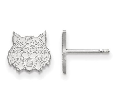 University of Arizona Sterling Silver Extra Small Post Earrings | Logo Art | SS030UAZ