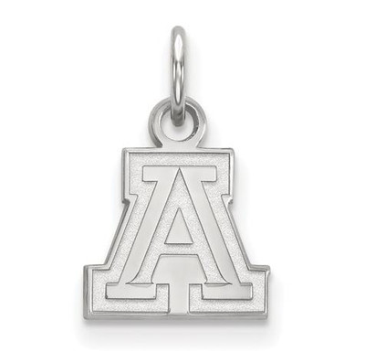 University of Arizona Sterling Silver Extra Small Pendant | Logo Art | SS001UAZ
