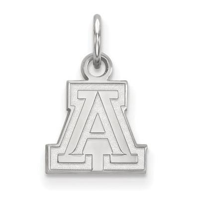 University of Arizona Sterling Silver Extra Small Pendant   Logo Art   SS001UAZ
